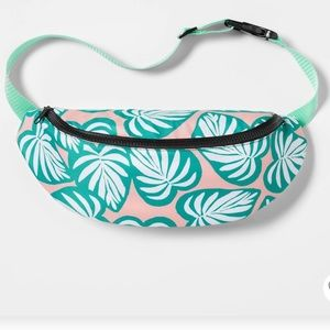 Tropical Hip Cooler Fanny Pack Bag